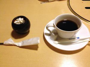 コーヒー、プリン