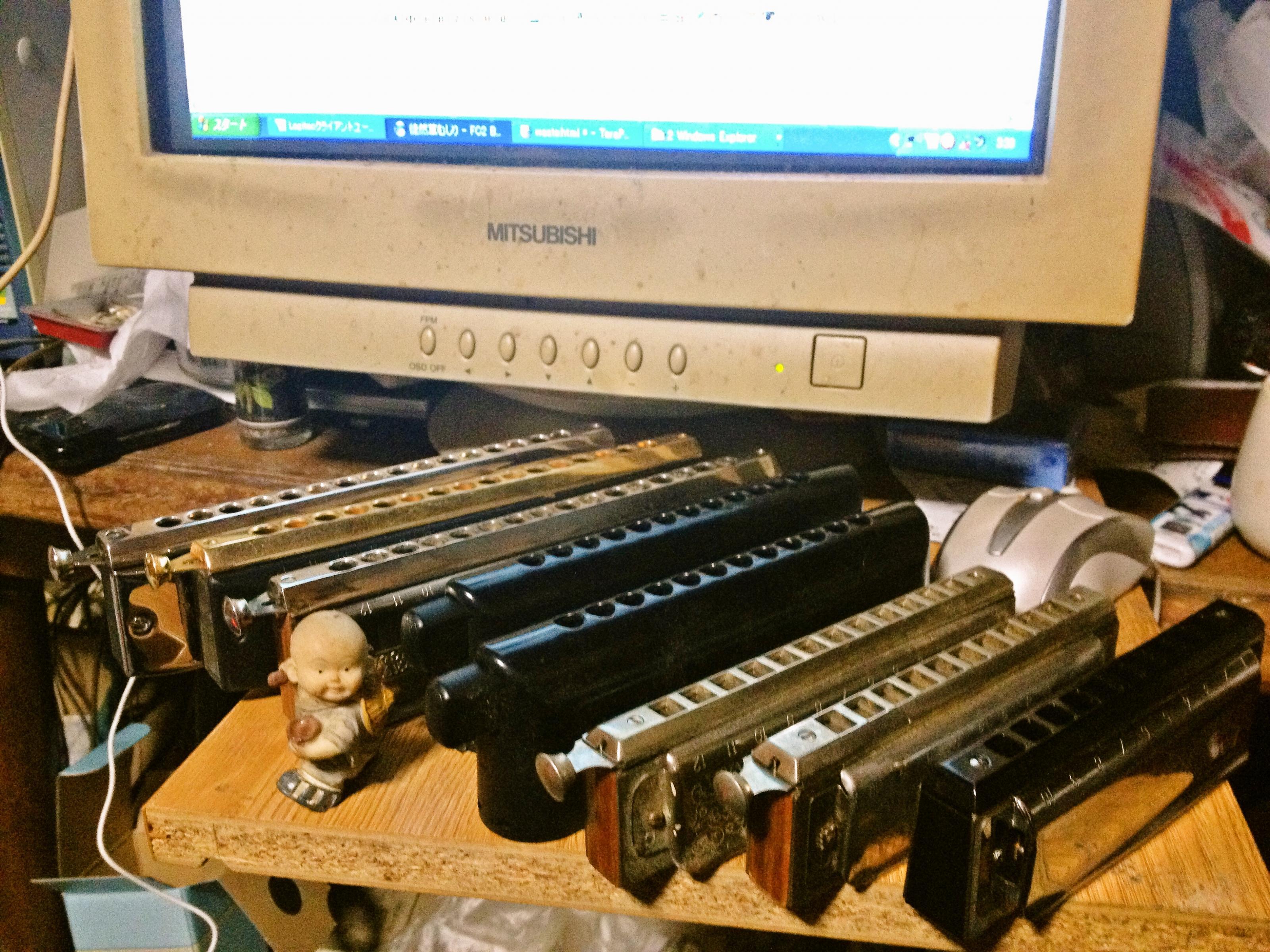 chromatic harmonicas