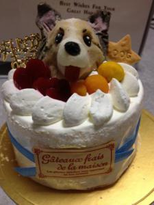 祝♪10歳BDケーキ~