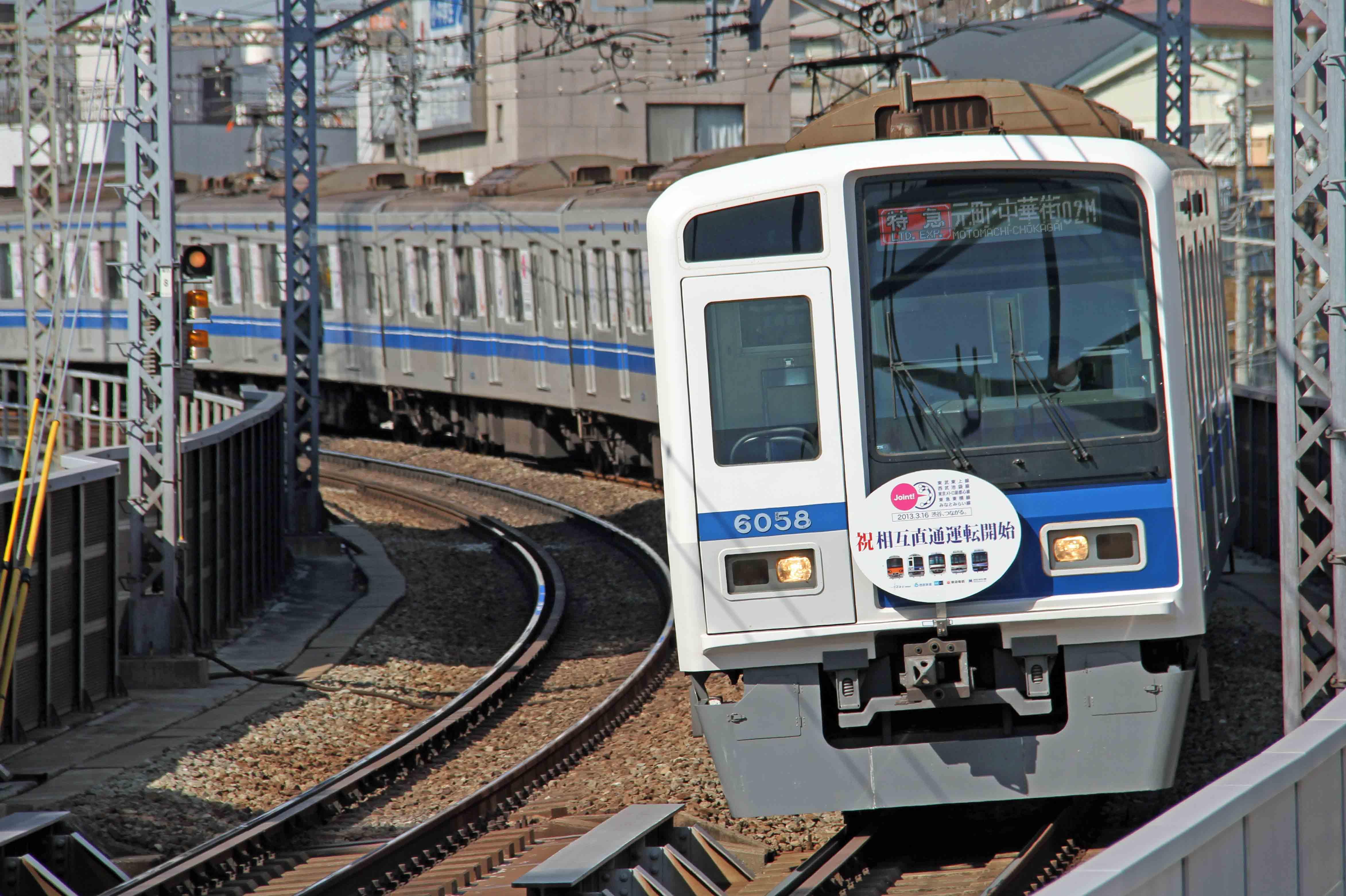 西武池袋線6000系電車01