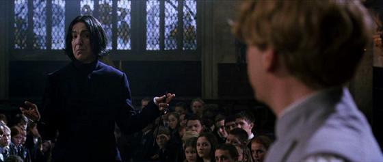 Severus Snape,Gilderoy Lockhart