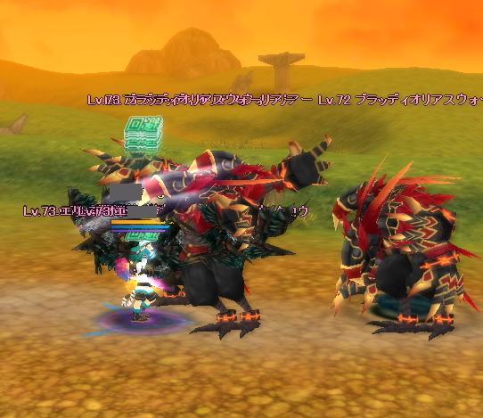 敵の中心でうまうまを踊るロマン.JPG