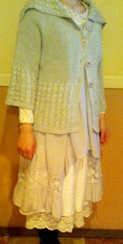 マリちゃんに買わされた少女的レースな服