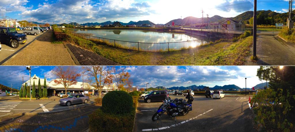 Suzuki Intruder 400 Classic スズキ イントルーダー クラシック /  Volusia/HONDA STEED VLS ホンダ スティード スプリンガー  秋 紅葉 北播磨エコミュージアム 道の駅  ツーリング