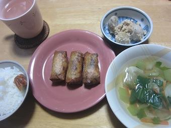141130-8中華定食(春巻き)