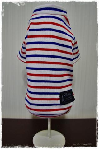 トリコロールTシャツ①