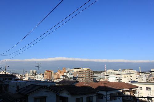 なんかすごい雲じゃね?
