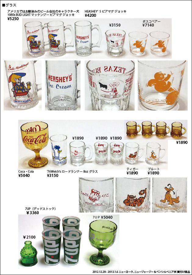 201301 アメリカ買付商品 グラス ボスコベアー 7UP