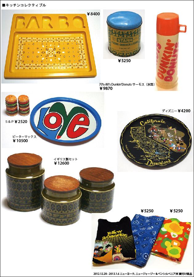 201301 アメリカ買付商品 キッチンコレクティブル ダンキンドーナツ ピーターマックス