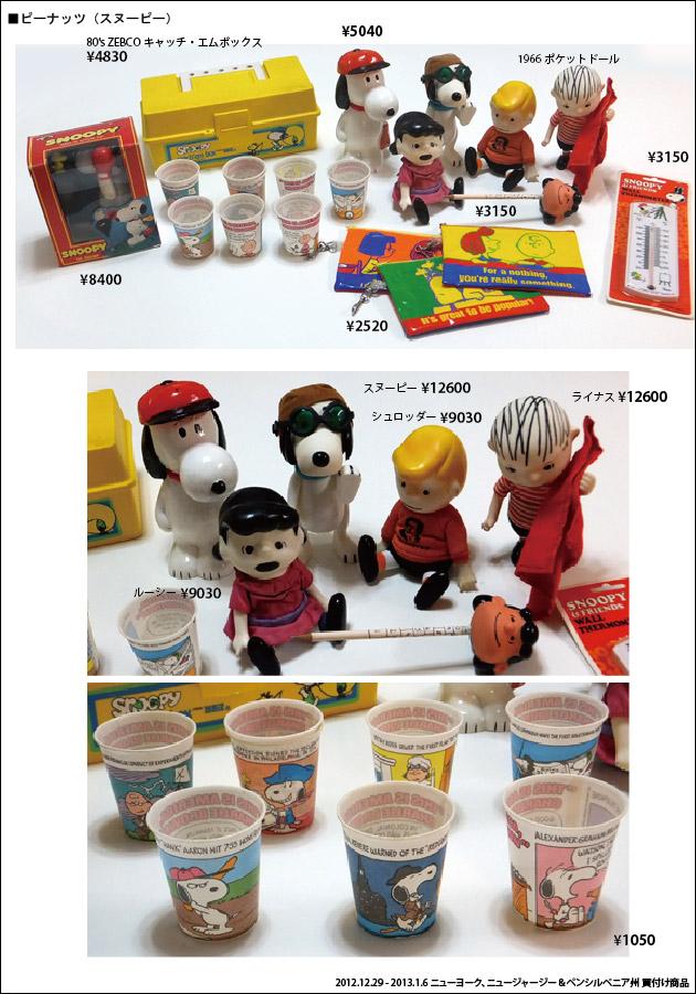 201301 アメリカ買付商品 ヴィンテージ スヌーピー ポケットドール