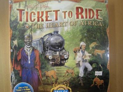 チケット・トゥ・ライド:ハート・オブ・アフリカ
