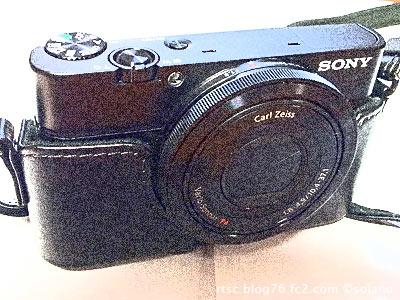 ソニーのハイエンドコンパクトデジカメ、RX100
