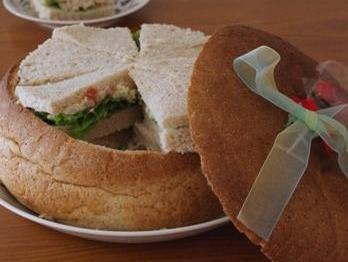 ライ麦パン サンドイッチド