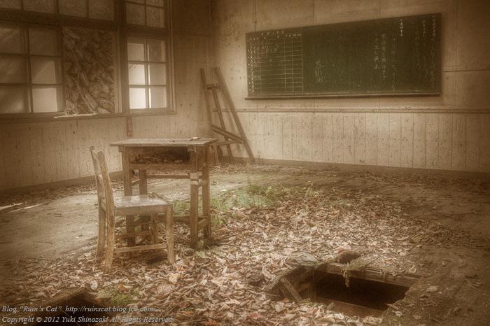 「思い出の学び舎」 小倉沢小中学校