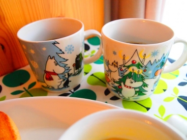arabia moomin winter mug