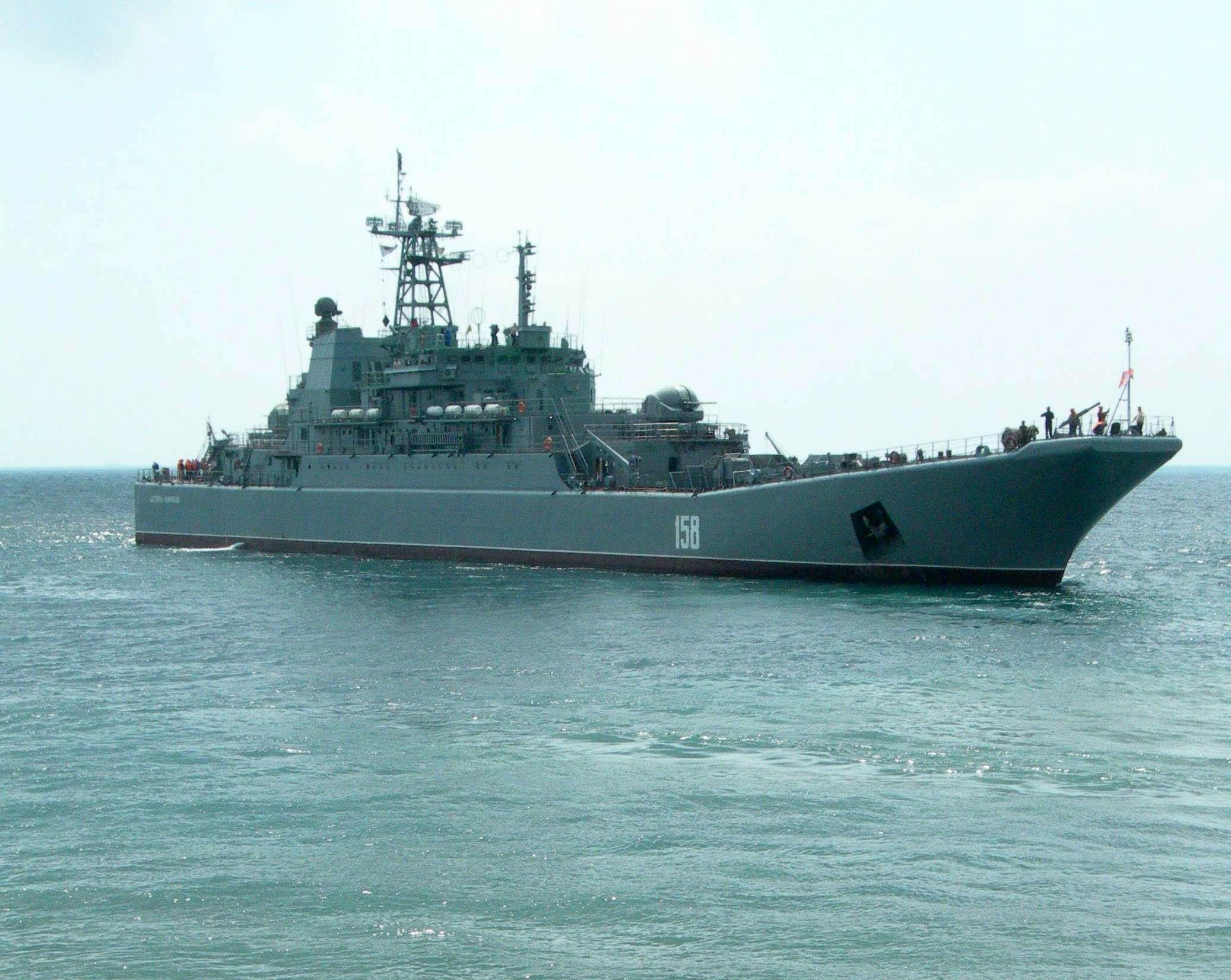 ロシア黒海艦隊艦艇はシリアへの...