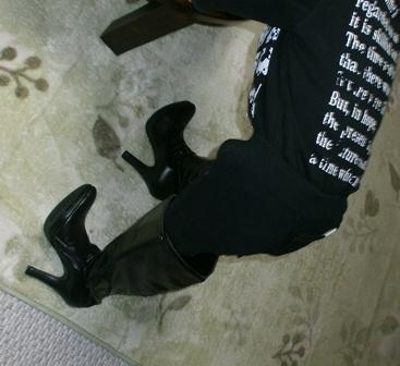 ママのブーツ