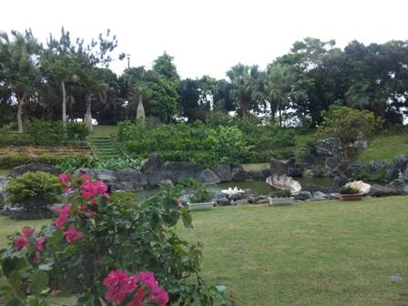 日航八重山:庭