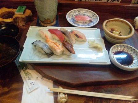 三寿司:上にぎり、とろ