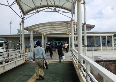 小浜島:小浜港ターミナル