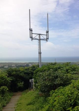 小浜島:展望台付近のアンテナ