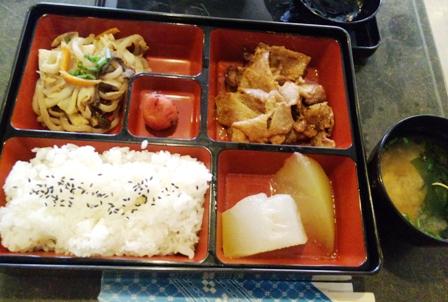やすらぎの郷:味噌豚焼定食