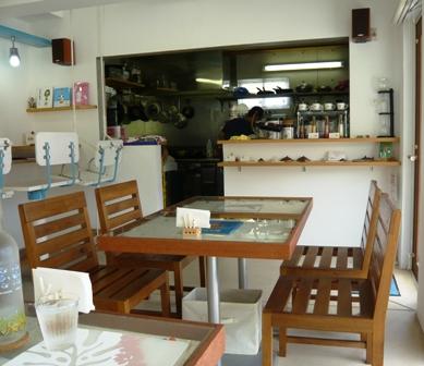ハイタイドカフェ:店内4
