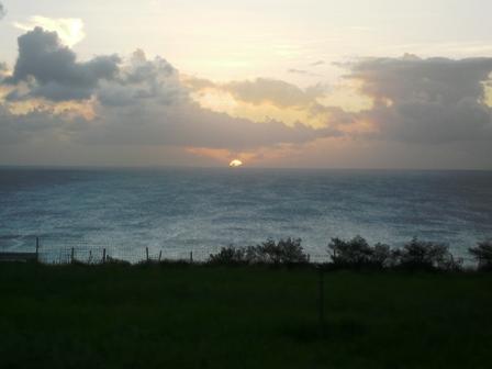 ミルミル:夕陽4