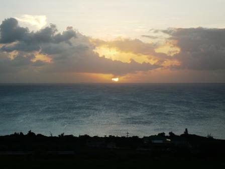 ミルミル:夕陽2