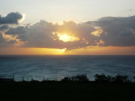 ミルミル:夕陽3