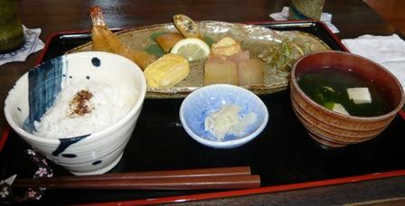 花南:レディース定食