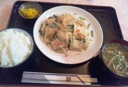 ふたなか:豆腐ちゃんぷるー