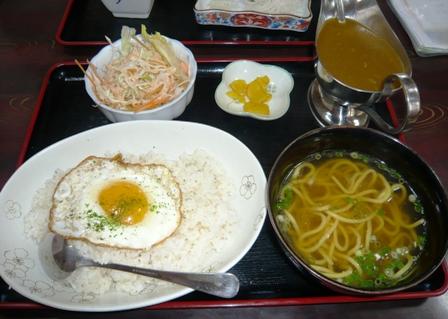 のりば食堂:カレー定食