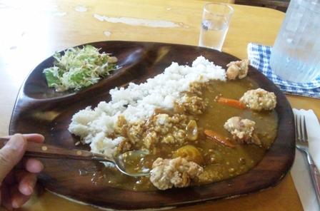 ふるさと食堂:カレー