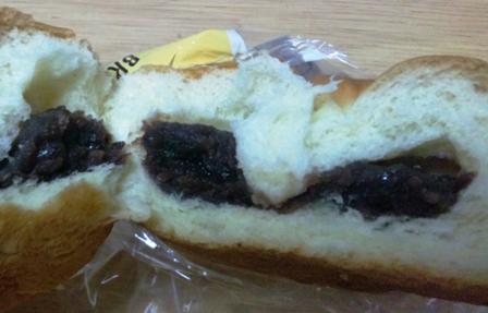 ベーカリーブレッツェル:小倉あんパン2