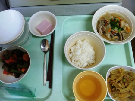 病院食:夕食全体