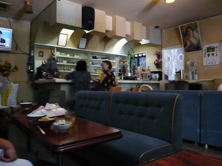 喫茶セブン:店内