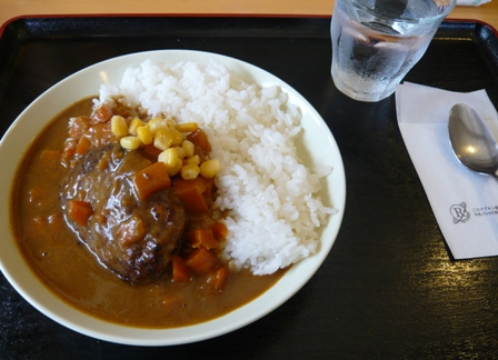 Resort life kabira Cafe:ハンバーグカレー