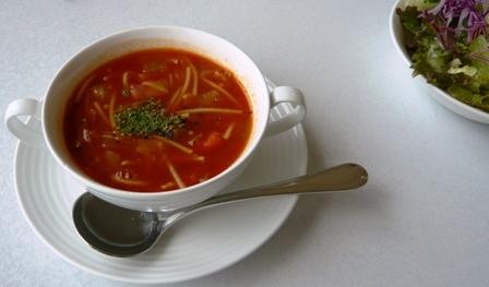 石垣シーサイドホテル:MORA MORA;スープ・サラダ