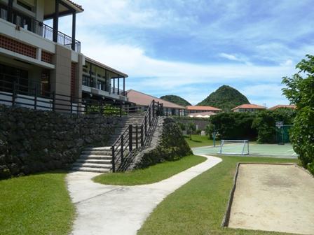 クラブメッド:テニスコート