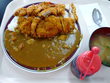 ライオン食堂:チキンカツカレー