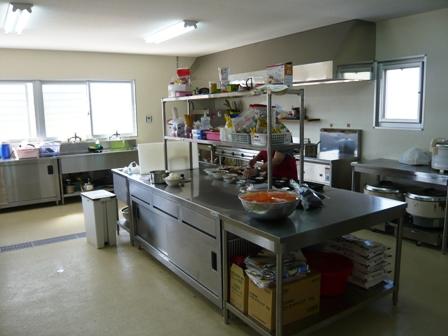 サポートセンターむりぶし:厨房