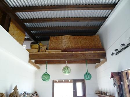 太朗窯:新しい店舗の天井