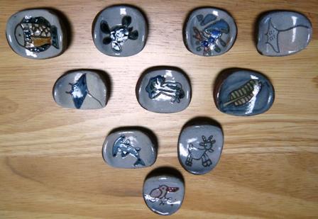 太朗窯:箸置き