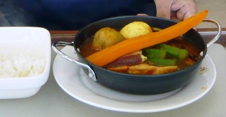 ハイタイドカフェ:島野菜のスープカレー