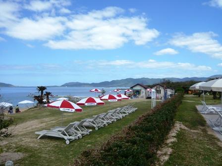 ナチュラ:ホテルのビーチ