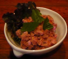 ポテトサラダ(紅芋入り)
