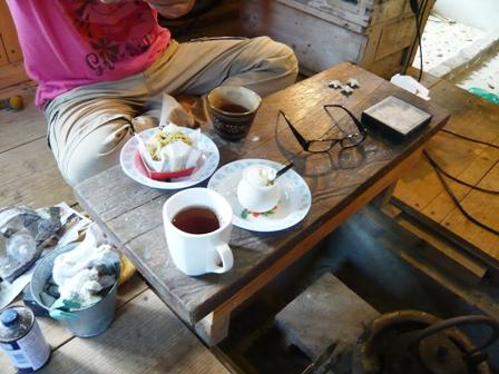 南島茶屋:ツヨちゃんとお茶する