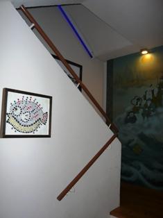 まぐろのひとし石巌當店:階段