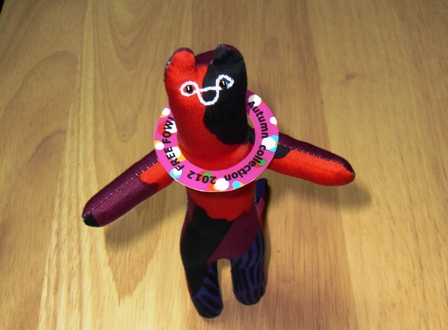 FREE FOWLS:イリオモテヤマネコ人形